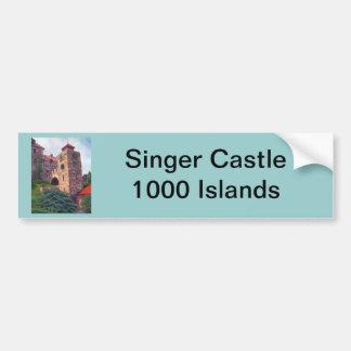 Singer Castle 1000 Islands Bumper Sticker