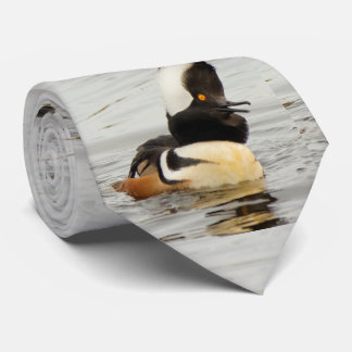 Singer in the Making: Hooded Merganser Tie