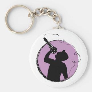 Singer Keychain
