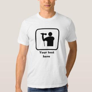 Singer Logo -- Customizable Tshirt