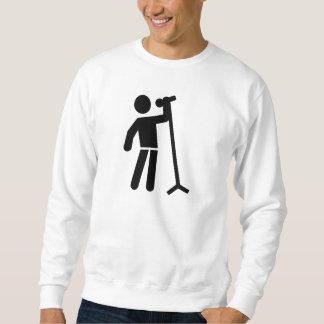 Singer logo sweatshirt