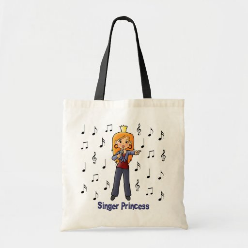 Singer Princess Canvas Bag