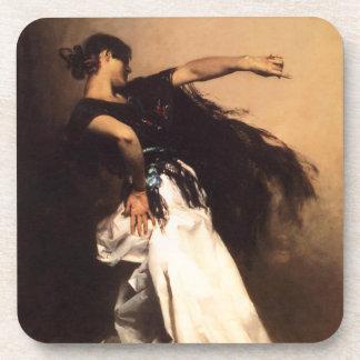 Singer Sargent Spanish Dancer Coasters