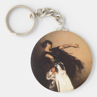 Singer Sargent Spanish Dancer Key Chain