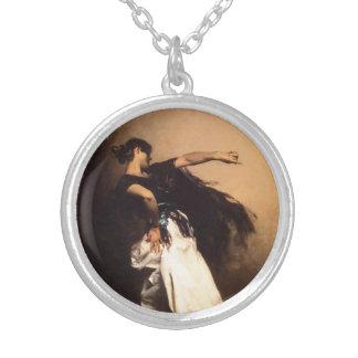Singer Sargent Spanish Dancer Necklace