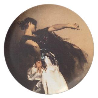 Singer Sargent Spanish Dancer Plate