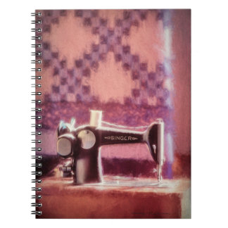 Singer Sewing Machine Photo Notebook
