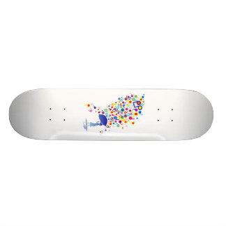 Singin' in the Rain Custom Skate Board