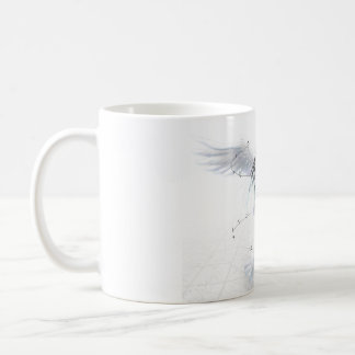 Singing angel mug
