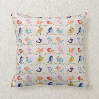 Singing Birds Pillow