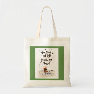 Singing Blind Mouse Tote Bag