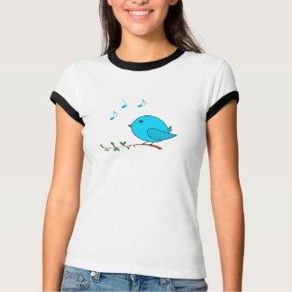singing blue birdie T-Shirt