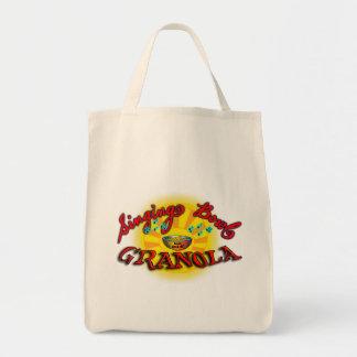 Singing Bowl Granola Grocery Tote Bag
