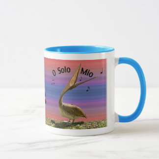 Singing Brown Pelican Mug