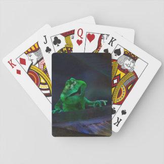 Singing Frog   #5 Playing Cards