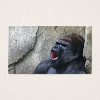 Singing gorilla profile card