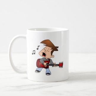Singing Guitar Player Coffee Mug