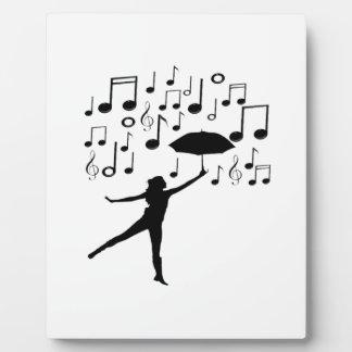 Singing in The Rain Plaque