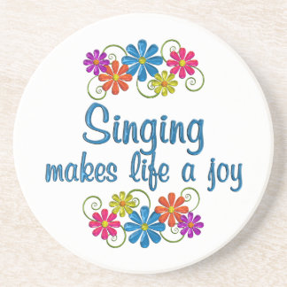 Singing Joy Drink Coasters