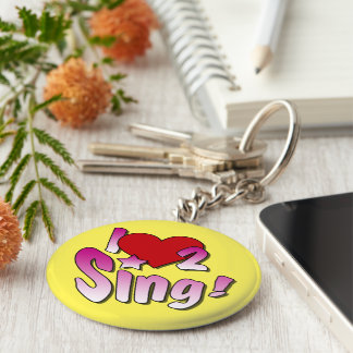 Singing Key Ring