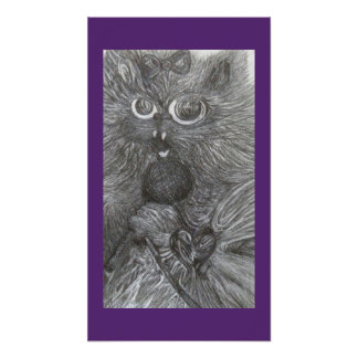 Singing Kitty by CFW Poster