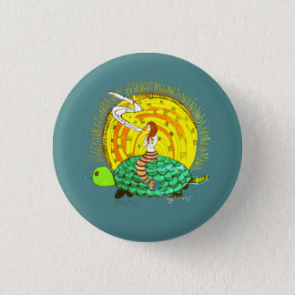 Singing Mermaid 1 Inch Round Button