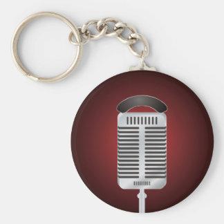 Singing Microphone Keychain