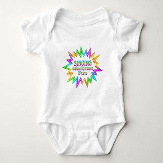 Singing More Fun Baby Bodysuit