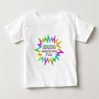 Singing More Fun Baby T-Shirt