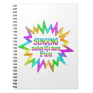 Singing More Fun Notebook