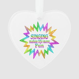 Singing More Fun Ornament