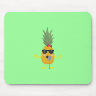 Singing Pineapple Mouse Pad