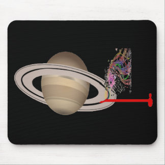Singing Rings Mouse Pad