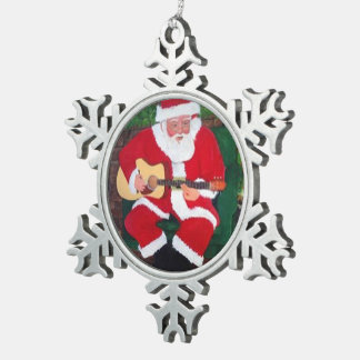 Singing Santa Christmas Ornament