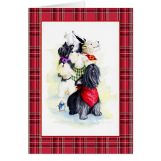 Singing Scotties Card