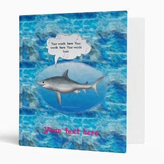 Singing Shark 3 Ring Binders