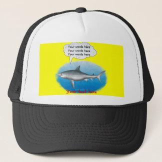 Singing Shark Trucker Hat