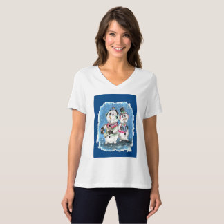 Singing Snow Men T-Shirt
