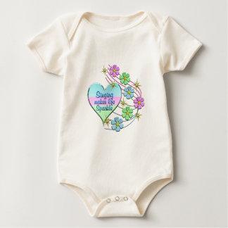 Singing Sparkles Baby Bodysuit