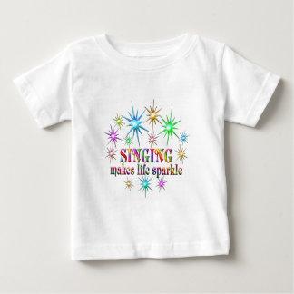 Singing Sparkles Baby T-Shirt