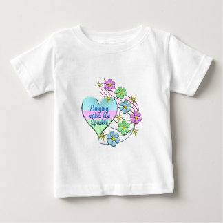Singing Sparkles Baby T-Shirt
