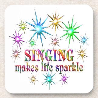 Singing Sparkles Beverage Coaster