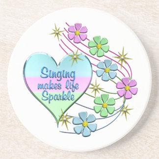 Singing Sparkles Coaster
