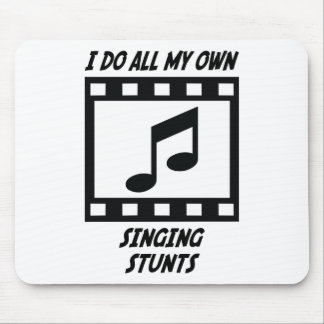 Singing Stunts Mouse Pads