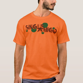 Single Amigo Basic Tee Orange