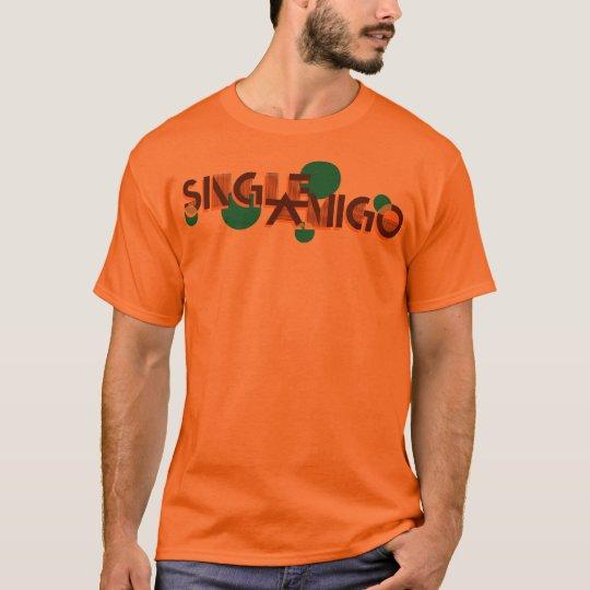 Single Amigo Basic Tee Orange
