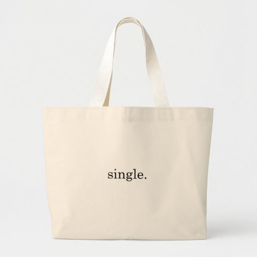 Single. Canvas Bags