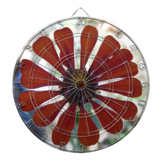 Single Bloom Dartboard
