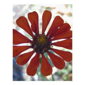 Single Bloom Letterhead