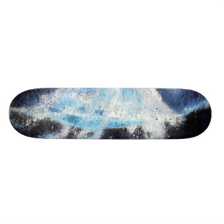 Single Blue Wave Skateboard
